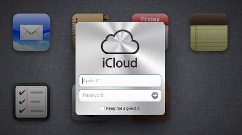 Immagine dell'applicazione iCloud