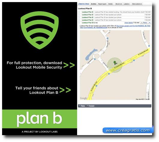 Immagine dell'applicazione Plan B per Android