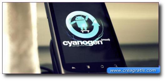 Immagine del sito CyanogenMod