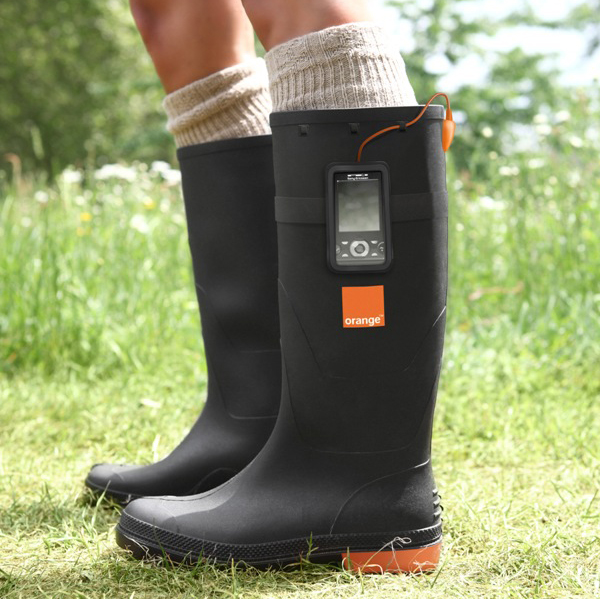 Immagine del caricabatterie Orange Power Wellies
