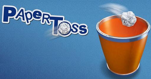 Immagine del gioco Paper Toss per Android