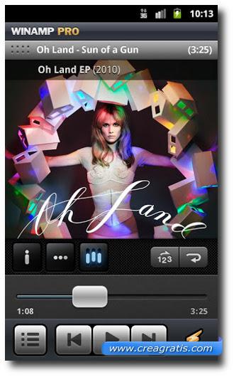 Immagine dell'applicazione WinAmp per Android
