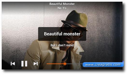 Immagine dell'applicazione musiXmatch per Android