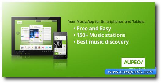 Immagine dell'applicazione Aupeo! per Android