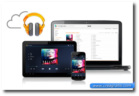 Immagine dell'applicazione Google Play Music per Android
