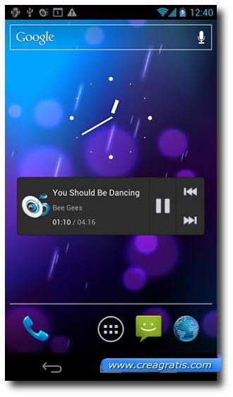 Immagine dell'applicazione Music Drop'n' play lite for Dropbox per Android