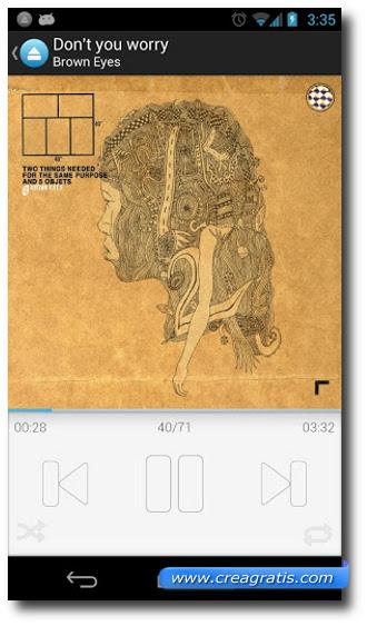 Immagine dell'applicazione Music Drive per Android