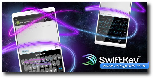 Immagine della tastiera SwiftKey Keyboard per Android