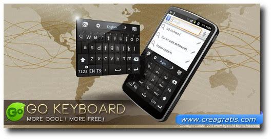 Immagine della tastiera GO Keyboard per Android