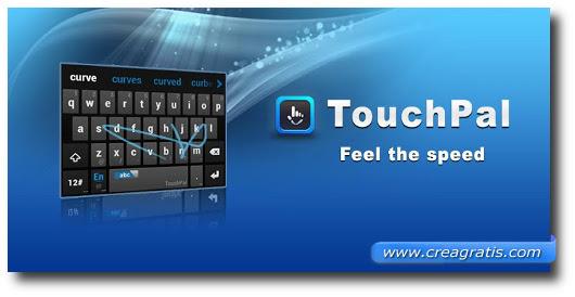 Immagine della tastiera TouchPal Keyboard per Android