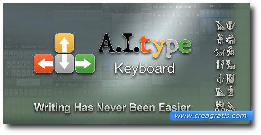 Immagine della tastiera A.I.type Keyboard per Android