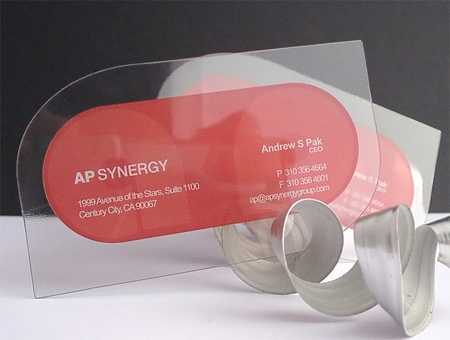 10-Clear-Plastic-Business-Cards