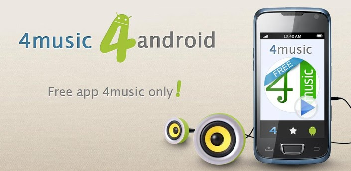 Immagine dell'applicazione 4Shared Music per Android