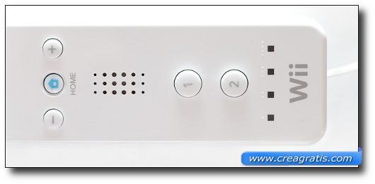 Immagine di un controller della Nintendo Wii