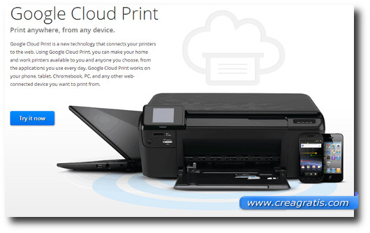 Immagine di Google Cloud Print