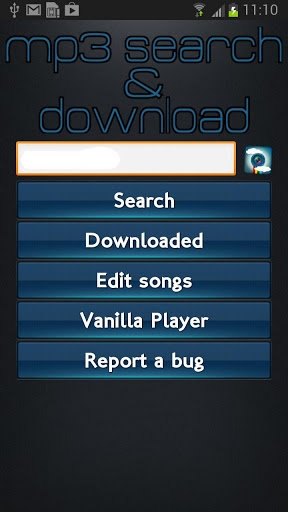 Immagine dell'applicazione Mp3 Search and Download Pro per Android