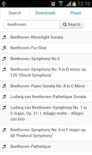 Immagine dell'applicazione Scarica musica gratis per Android