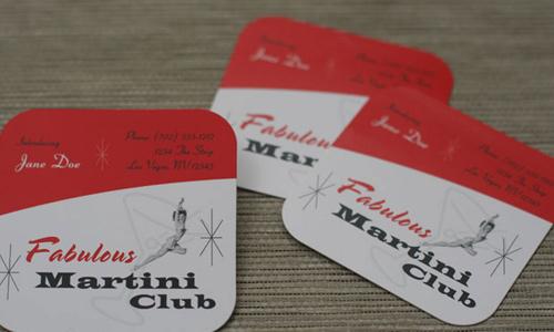 Biglietto da visita Slide Film Business Card