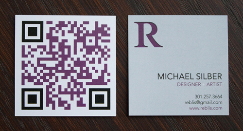 Biglietto da visita Reblis Business Card