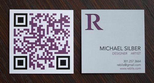 Biglietto da visita Reblis Business Card