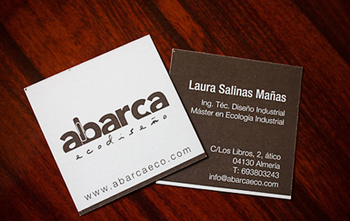 Biglietto da visita Eco-Friendly Business Card