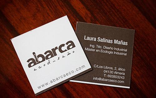 Biglietto da visita Eco-Friendly Business Card