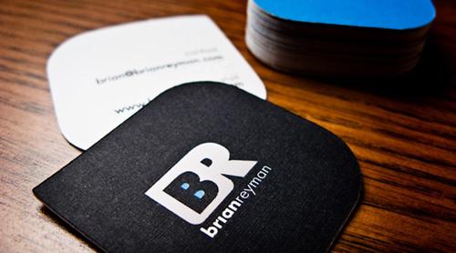 Biglietto da visita How I Made My Own Business Cards