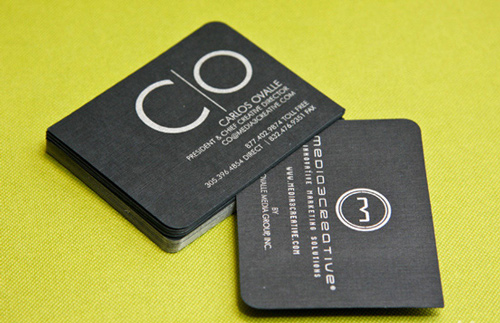 Biglietto da visita M3C Business Card