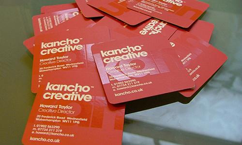 Biglietto da visita Kancho Creative