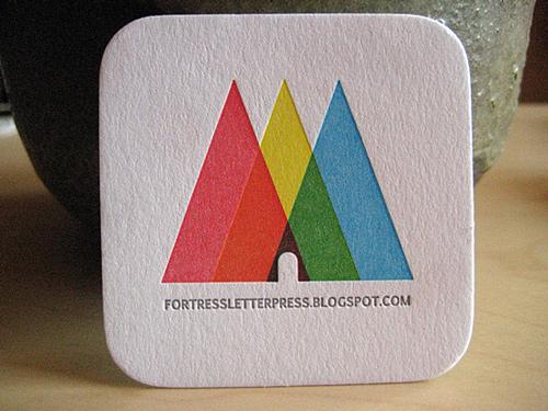 Biglietto da visita Fortress Letterpress