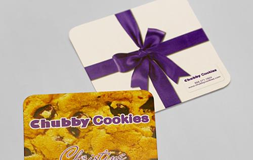 Biglietto da visita Chubby Cookies