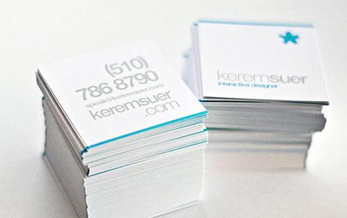 Biglietto da visita Keremsuer Business Card