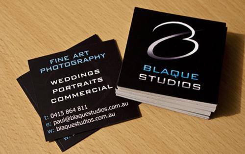 Biglietto da visita Blaque Studios