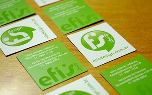 Biglietto da visita Efis Design Bussines Card