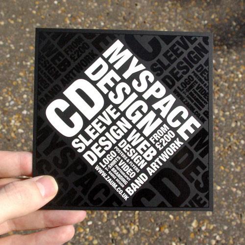 Biglietto da visita Cool Zaum Business Card