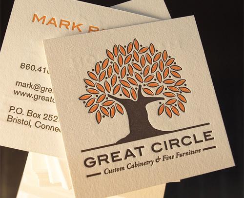 Biglietto da visita Great Circle