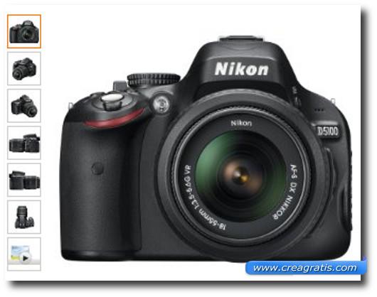 Immagine della fotocamera Nikon D5100