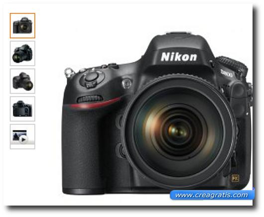 Immagine della fotocamera Nikon D800