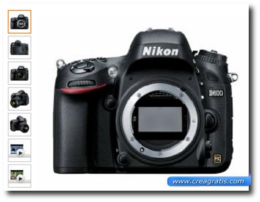 Immagine della fotocamera Nikon D600