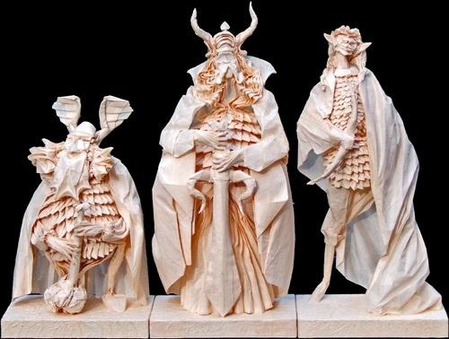 Immagine dell'origami Il Signore degli Anelli