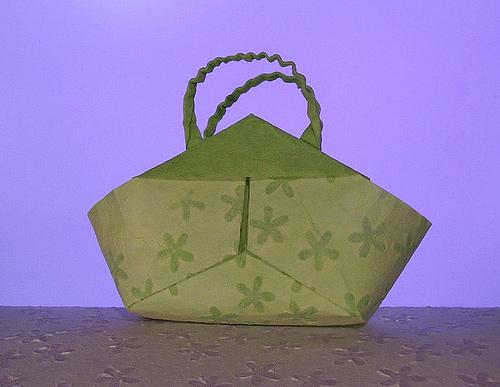 Immagine dell'origami Una borsa