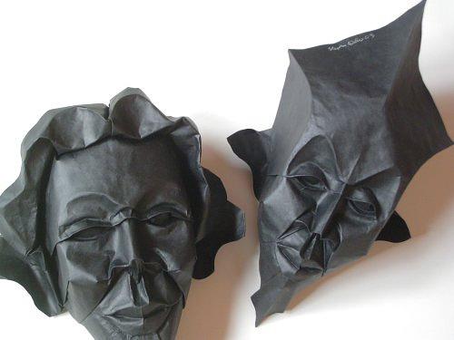 Immagine dell'origami Maschere