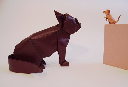 Immagine dell'origami Tom e Jerry