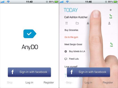 Immagine dell'applicazione Any.DO