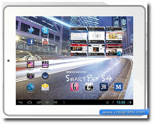 Immagine generica di un tablet