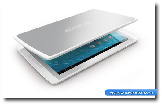 Immagine generica sullo schermo di un tablet