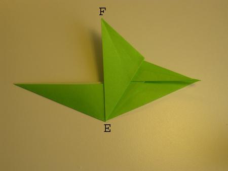 Istruzioni Origami Drago n.10