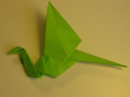 Istruzioni Origami Drago n.24