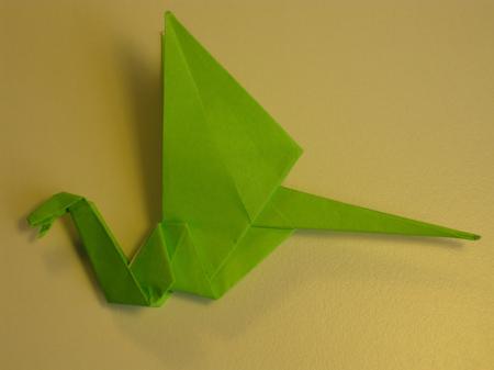 Istruzioni Origami Drago n.25