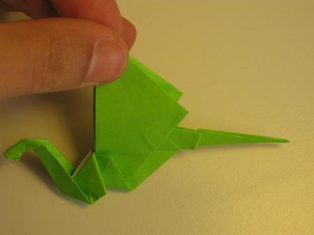 Istruzioni Origami Drago n.26